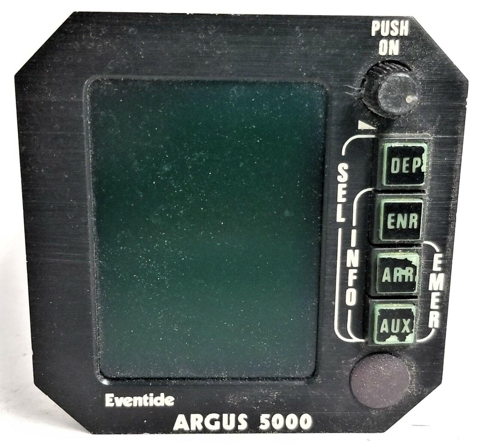5000-10-07  MOVING MAP DISPLAY ARGUS 5000