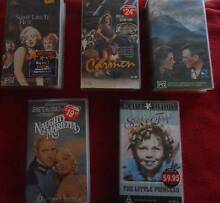 VIDEOES CLASSIC OLD TIME GREAT MOVIES VHS BULK LOT OF 5 LOT #1 Altona Meadows Hobsons Bay Area Preview