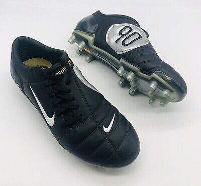 NEW TOTAL 90 T90 AIR ZOOM III FOOTBALL BOOTS FG FIRM GROUND UK SIZE 7.5 US 8.5