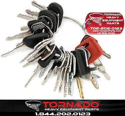 24 Keys Heavy Equipment / Construction Ignition Key Set