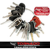 24 Keys Heavy Equipment / Construction Ignition Key Set