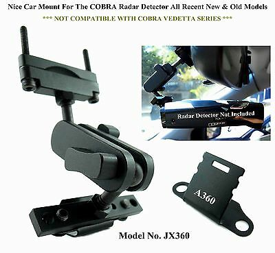 ONE Set Nice Car Mount For The Rear Mirror COBRA Radar Detector New & Old Models