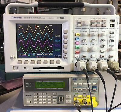 Tektronix Tds3054b 4 Ch Dpo Oscilloscope 500mhz 5gsas Options Tds3gv