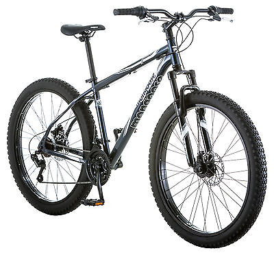 "27.5"" Plus Mongoose Men's Hondo Mountain Bike, Grey"