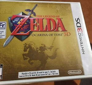 Zelda Ocarina of Time 3D New Sealed