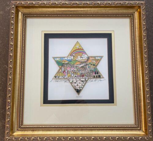 Charles Fazzino Star of Hope Framed #220/300