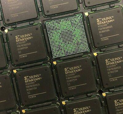 Xilinx Xc3s1000-5fg676c Ic Fpga 391 Io 676fbga New
