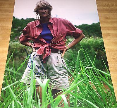 Laura Dern Jurassic Park Hand Signed 11X14 Autographed Photo W Coa