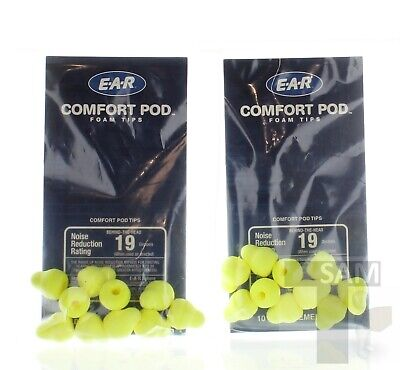 Band Hearing Protector (3M E-A-R Swerve Band Hearing Protector Comfort Pod Foam Tips 322-2001 20ct)
