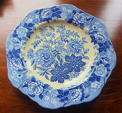 Spode BLUE ROOM GARDEN COLLECTION Jasmine Buffet Dessert Plate Spode Buffet Plate