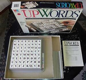 UPWORDS BOARD GAME by Milton Bradley Coomera Gold Coast North Preview