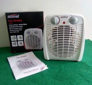 Mistral Fan Heater 2000w.