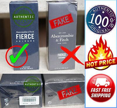 🔥🔥  Authentic FIERCE Abercrombie & Fitch 6.7 oz / 200 mL Cologne Original 🔥🔥