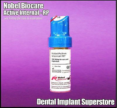 Nobel Biocare - Active Internal 5.0 X 11.5mm - Exp. 2022 - 12