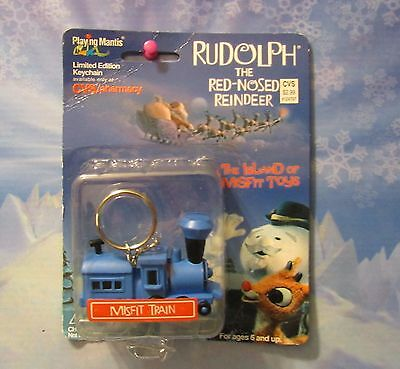 Rudolph The Red Nosed Reindeer Misfit Train  Limited edition key chain