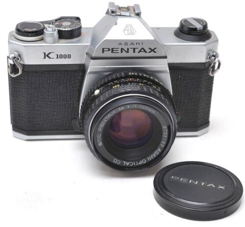 Pentax K1000 w/ SMC 50mm 1:2 Lens  - JAPAN