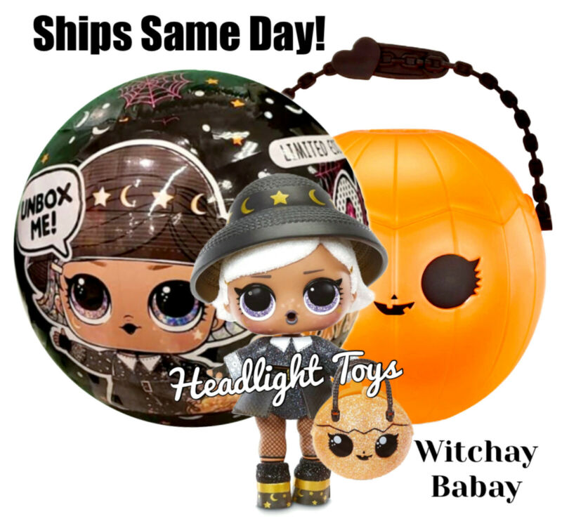 1 LOL Surprise Spooky Sparkle Witchay Babay Doll Ball Halloween 2020 Sealed
