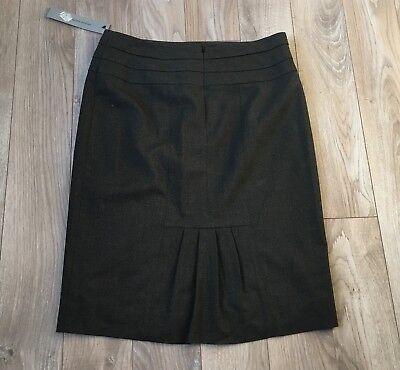 NWT Classiques Entier Blackish Pencil Straight Skirt Size 8 $148