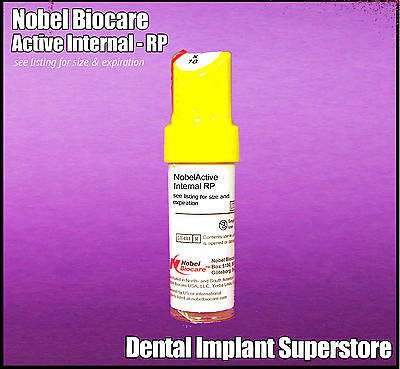Nobel Biocare - Active Internal 4.3 X 8.5mm - Exp. 2019 - 04