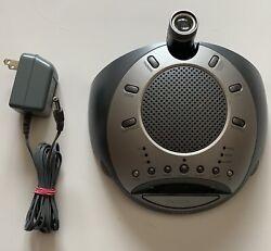 Homedics Sound Spa Clock Radio/Time Projection - Homedics SS-4000 NO PWR ADAPTER
