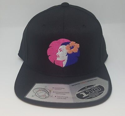 Flexfit Hawaiian Airlines Hat Pualani  Embroidered Logo Snapback