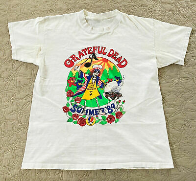 BEST VINTAGE Grateful Dead Summer VTG '89 Cookin US Tour GILDAN T-SHIRT USA