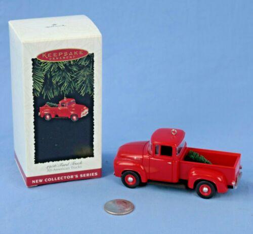 Hallmark 1956 Ford Truck Ornament Original Box NOS