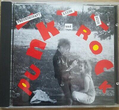 'Freundschaft, Liebe, Bier Und Punkrock' CD Punk 1993 Ichfunktion, Toxic Walls