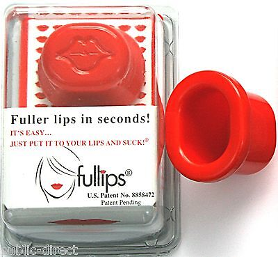 Small Oval Fullips Lip Plumper Enhancer Full Plumping Beauty Plump Tool