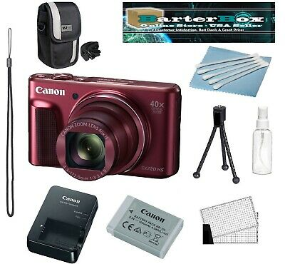 Canon PowerShot SX720 HS Digital Camera Red