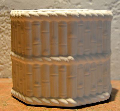 Ceramic Bisque Medium Bamboo Planter Pot - Ready-To-Paint