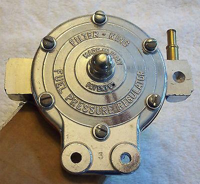NOS Filter King Fuel Filter Pressure Regulator  SUPER RARE Early pre-Malpassi