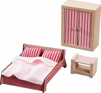 HABA Little Friends Master Bedroom - 3 Piece Furniture -