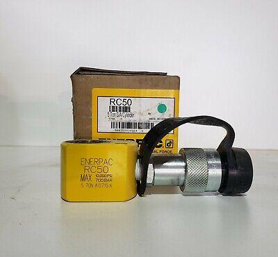 Enerpac Rc-50 Hydraulic Flat Pac Cylinder 5 Ton .63 Stroke 10000psi