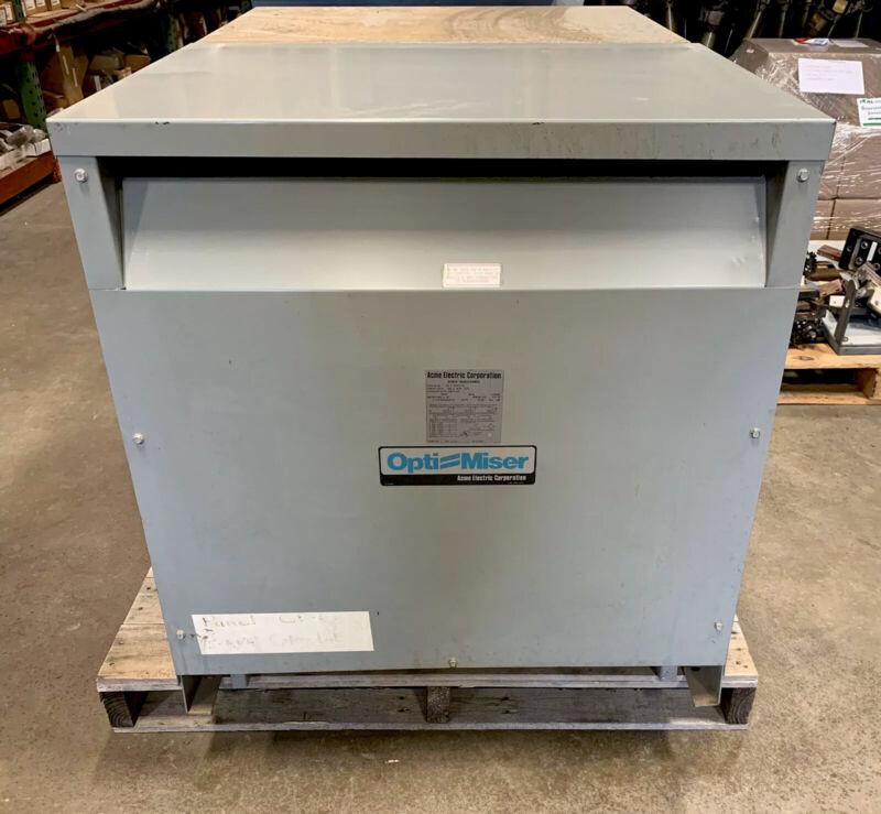 ACME ELEC TRIC POWER TRANSFORMER ( USED) 75 KVA    USED