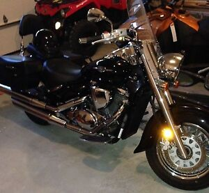 Motorcycle Suzuki Boulevard purchased in 2013