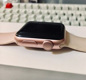 Non-functional Apple Watch Series 2 38mm Rose Gold Pink