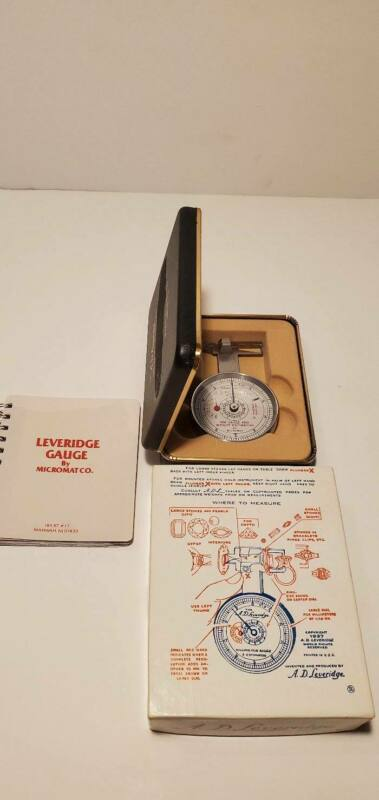 A.D. Leveridge MM Gauge And Estimator by Micromat Co. Diamond Measuring