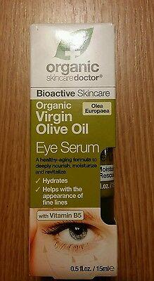Organic Skin Care Doctor Organic Olive Oil Eye Serum  0 5Oz