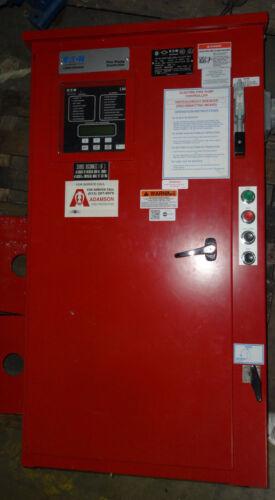 Fire Pump Controller Eaton Cutler-Hammer FD30-100D-LMR-L1-X1-B-P7-P8-F 100HP 480