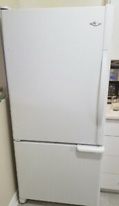 White Maytag fridge (delivery available)