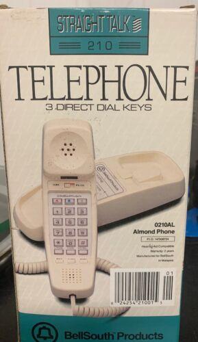 BellSouth Straight Talk 210 Land Line Telephone Desk Wall Ph