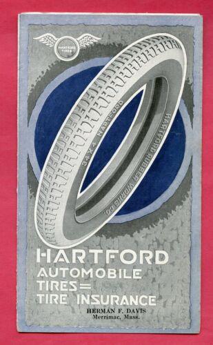 HARTFORD TIRES - Merrimac MA MASS - Vintage 1920