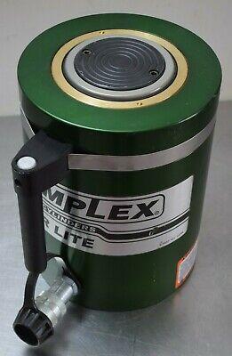 Simplex - 6 Stroke Aluminum Hydraulic Cylinder 100 Ton Capacity Single-acting