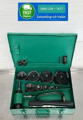 Greenlee 7310 Hydraulic Metal Knockout Punch Punches 3