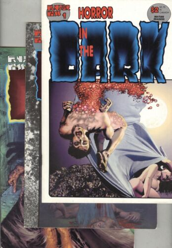 Horror in the Dark #1, #2, and #3
