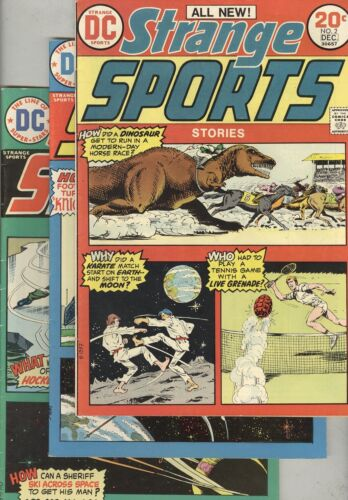 Strange Sports Stories #2, #3, and #5
