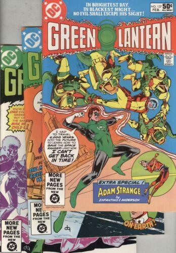 Green Lantern #137, #138, and #139 FN Adam Strange