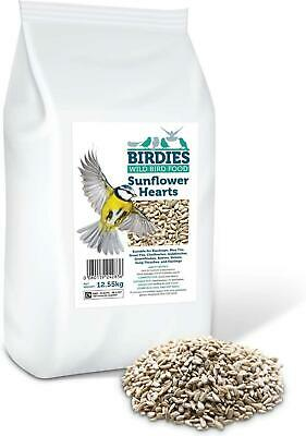 Sunflower Hearts- Bird Seed For Wild Birds 12.55kg Premium Husk Free Bakery