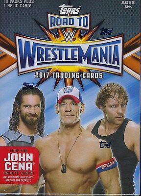 2017 Topps WWE Road To Wrestlemania Wrestling Trading Cards Value/Blaster Box